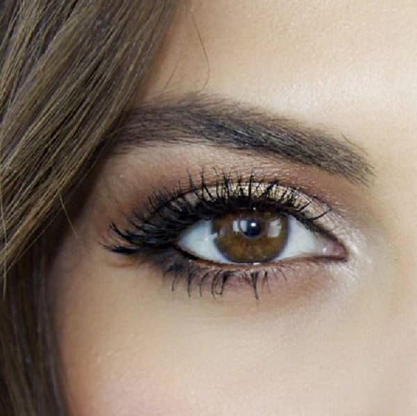 natural eye makeup for brown eyes