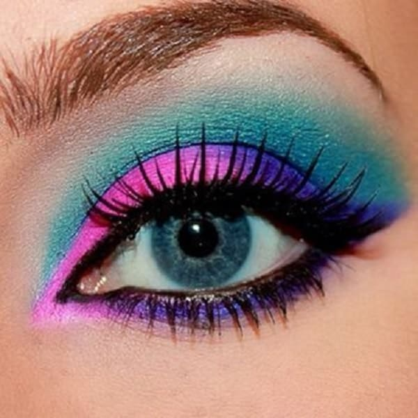 best pink eye makeup for women